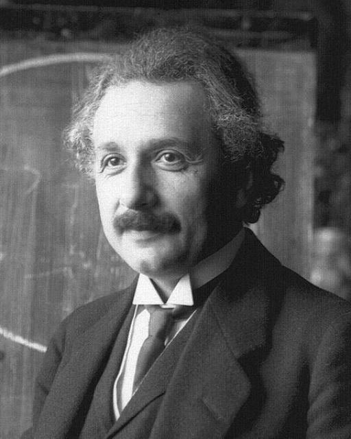 Photo of Albert Einstein